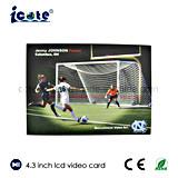 Beste Verkopende Producten de Video brochure-VideoKaart van 4.3 Duim voor Uitnodiging/Presentatie