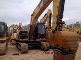 Verwendeter Gleisketten-Exkavator der Consruction Geräten-hydraulischer Baggerkatze-320d2