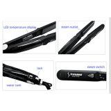 Для завивки волос титан нагреватель материала быстрый нагрев до щипцы для завивки волос выпрямитель для волос