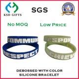 Tinte gefülltes Silikon-/Silikon-Armband für förderndes (KSD-939)