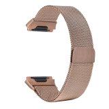 Milanese Band van het Horloge van het Roestvrij staal van de Lijn voor Ionische Fitbit