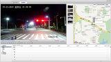 警察Cのための2.0MP 20Xのズームレンズ100mの夜間視界IR PTZの監視カメラ