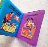 Livro de banho do bebé de plástico de desenhos animados