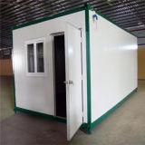 Acciaio chiaro e verde - Camera molto piccola del contenitore di Eco