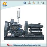 Moteur diesel à plusieurs degrés horizontal de la pompe à eau