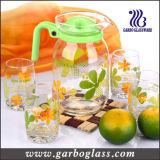 熱い販売法ガラスレモンセット