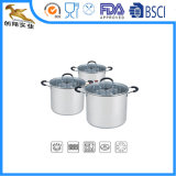 6-stuk Non-Stick Reeks van de Pot van de Saus van het Roestvrij staal (CX-ST0602)