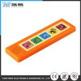 Módulo de som Eléctrico de plástico de brinquedos educativos Livro da placa do botão de Música