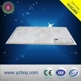 Traitement de surface laminé PVC couleur bois carreaux de plafond
