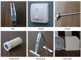 Prix bon marché de volets roulants en aluminium réglable pu l'isolement