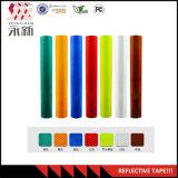 3m*10m*50mx 4.5cm Strook van het Broodje van de Sticker van de Film van de Band van de Opmerkelijkheid van de Waarschuwing van de Veiligheid van de Kleur de Weerspiegelende
