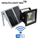 Mobibleは太陽LEDの洪水のライトまたは緊急時の庭、芝生、プールを制御した