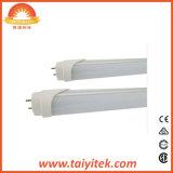 Lúmenes alto 18W de salida de la luz del tubo LED T8