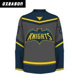 De Overhemden van het Ijshockey van het Ontwerp van de Douane van de manier voor de Mens (H025)