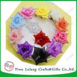 Cabeza de la flor artificial Wholesa cabeza Rose decorar para bodas