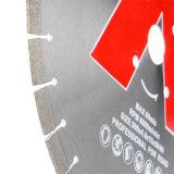 A faixa do diamante da ferramenta de Prfessional usada viu as lâminas para a estaca