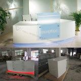 Blanc avec le vert dans le bureau de réception moyen de meubles de bureau/réception