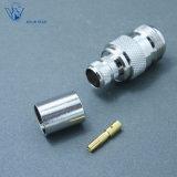 Koaxialn Verbinder weiblicher Falz HF-für Kabel LMR400