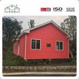 Neuer Art-moderner heller Stahl-vorfabriziertes Landhaus