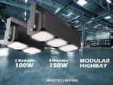 Enfriar el diseño de panal 40~320IP65 W LED de exterior Highbay Farol/