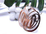 Het charmeren nam Retro van het Midden-Oosten van Juwelen Trendy Authentieke Gouden Eardrop toe