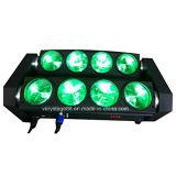 8X10W RGBW LEDの移動ヘッドビームLEDくもライト