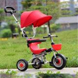 Triciclo barato popular de 2017 de bebé cabritos del cochecito