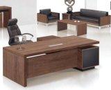 Таблица босса L-Формы с офисной мебелью постамента хранения архива устанавливает стол управленческого офиса