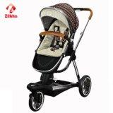 Carrello di bambino a tre ruote con buona stabilità