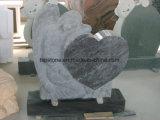 Het witte Beeldhouwwerk van de Tuin van de Steen van het Marmer/van het Graniet Hand Gesneden/Standbeeld/Dierlijke Gravure voor het Landschap van de Tuin