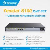 Linea telefonica di linea di accesso al centralino privato del IP di Yeastar S100 per le soluzioni dell'hotel o di affari
