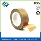 Brown Color Not-Stick PTFE Fiberglass Adhesive Plug