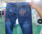 De Gravure die van de Laser van de Jeans van het naambord Machine voor Verkoop merken