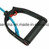 Manetas ajustables de las gomas del ampliador de Widerstandsband de la venda de Gymnastik del tubo de la aptitud