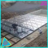 Galvanizados a quente dobrável do tanque de armazenagem de água de aço