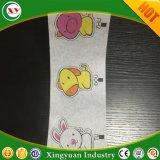 Afgedrukt Papieren zakdoekje als Frontale Band voor Pull up de Volwassen Broek van de Luier