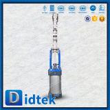 Didtek durch Rohr-Messer-Ventil mit pneumatischem