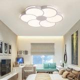 Acrílico Simplism creativo interior del techo Iluminación de salón/dormitorio