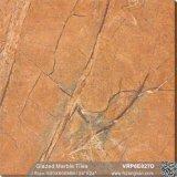 Una buena recepción de materiales de construcción de la pared de mármol acristalada&Baldosa (600x600mm/800x800mm, VRP6E075D)