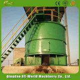 Оборудование закваски компоста ферментера конструкции машины заквашивания польностью закрынное поворачивая