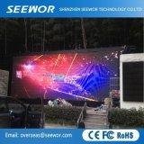 Le SMD2727 P4 écran LED de plein air avec armoire 960*960mm