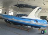 Liya 7,5 m Casco rígido militar barcos infláveis para venda