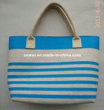 女性のための大きい流行のウールのフェルトのショッピング戦闘状況表示板のハンド・バッグ