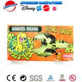 La lueur en plastique foncé de puzzle de dinosaur badine le jouet
