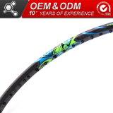 De hoge Racket van de Vezel van het Badminton van de Koolstof van de Goederen van de Modulus Grafiet Sportieve