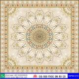 Tuile en céramique de tapis glacée par médaillon (VAP6A1209)
