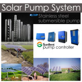 Edelstahl-mehrstufige versenkbare Pumpen-Solarwasser-Pumpen-System