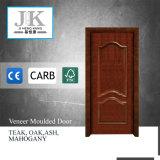 固体コアフレームの木製のクルミのベニヤの内部ドア