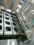 Taça de gelatina vedante automática de bandeja de plástico máquina de enchimento e selagem