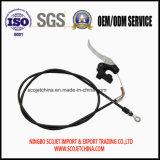El cable de control con a presión la maneta de la fundición